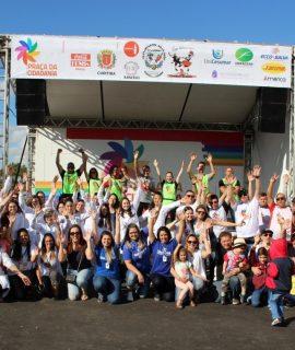 Praça da Cidadania com parceria da Unifacear