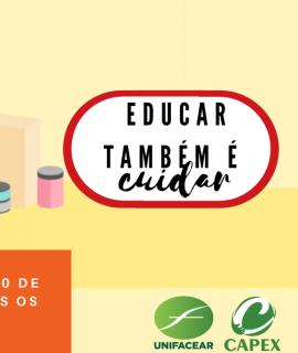 Educar também é cuidar – Campanha de arrecadação de alimentos