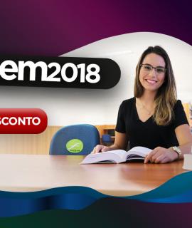 Descontos de 15% nas mensalidades para o curso inteiro com a nota do ENEM 2018