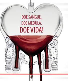 Campanha arrecadação de sangue e medula óssea