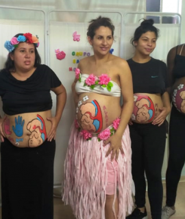 Parceria com Unidade básica de saúde traz um carinho a mais para futuras mamães de Araucária