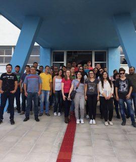 Alunos de Engenharia Civil realizam visita técnica na Estação de Tratamento de Água da Sanepar