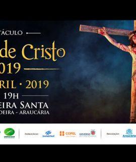 """Com apoio da Unifacear, espetáculo """"Paixão de Cristo"""" deve receber mais de 20 mil pessoas em Araucária."""