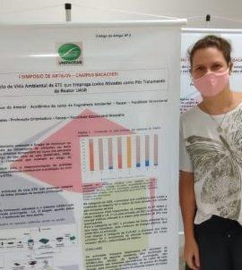 Aluna de Engenharia Ambiental tem artigo aceito para publicação na revista Ibero-Americana de Ciências Ambientais