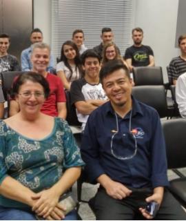 Acadêmicos do curso de Engenharia Mecânica visitaram a empresa AAM DO BRASIL no dia 31/08/2018.